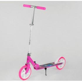 Двухколесный самокат Best Scooter складной механизм 54701 розовый
