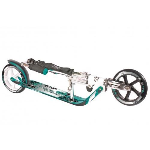 Двухколесный самокат Hudora Big Wheel 205 бирюзовый
