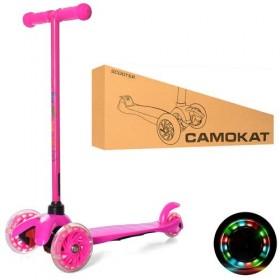 Триколісний самокат Itrike mini BB 3-013-5-P, рожевий