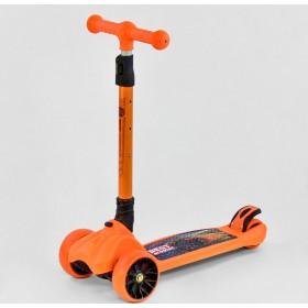 Трехколесный самокат Best Scooter F 16770 оранжевый