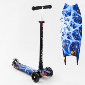 Трехколесный самокат Best Scooter Maxi Graffiti 1505 2021 New