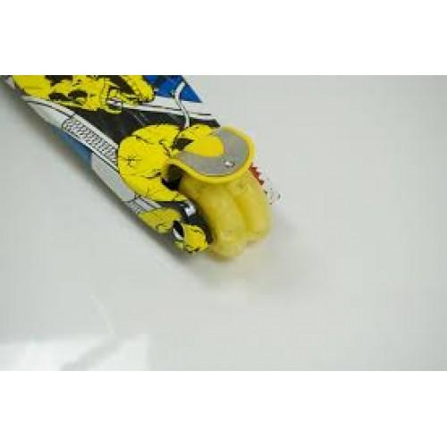 Триколісний самокат Best Scooter Maxi Graffiti 1394жовтий