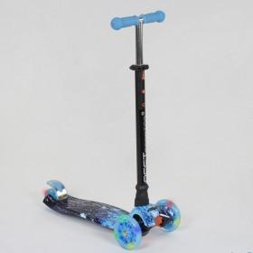 Триколісний самокат Best Scooter Maxi Graffiti 1305 синій