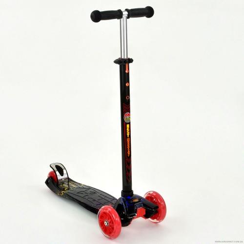 Триколісний самокат Best Scooter Maxi Print 1308 Flash