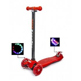 Триколісний самокат Scooter Maxi Best червоний