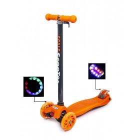 Триколісний самокат Scooter Maxi Best помаранчевий