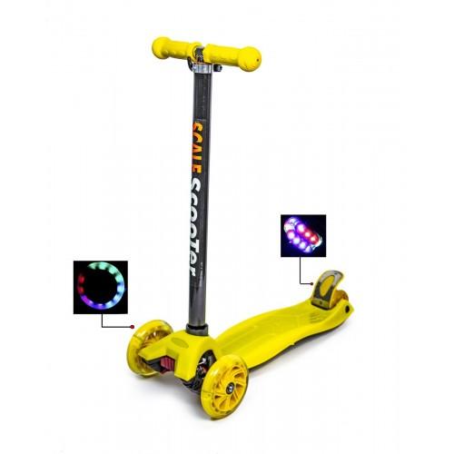 Триколісний самокат Scooter Maxi Best жовтий