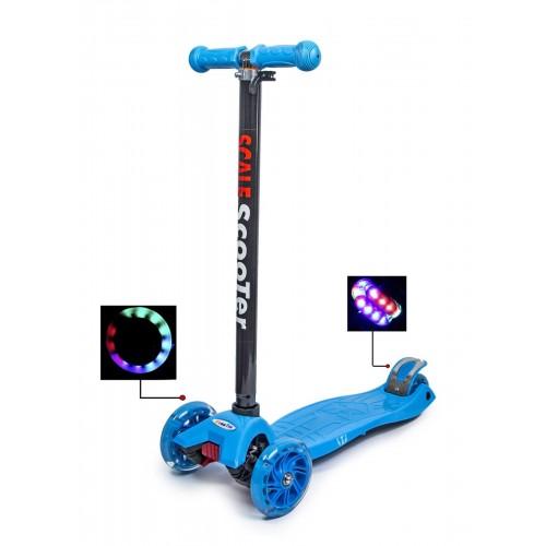Триколісний самокат Scooter Maxi Best блакитний