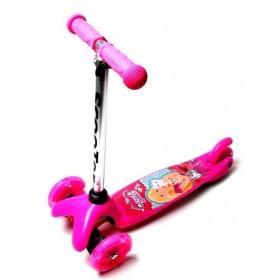 Трехколесный самокат Scooter Mini Best Barbie
