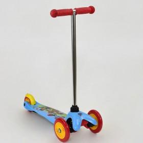 Трехколесный самокат Best Scooter ТК 10001 красно-голубой