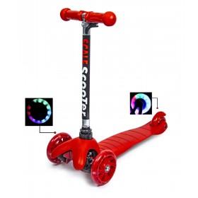 Трехколесный самокат Scooter micro mini best красный