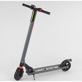 Электросамокат Best Scooter складной 83325 серый