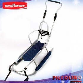 Комплект Adbor Piccolino X-Drive + подножки серый