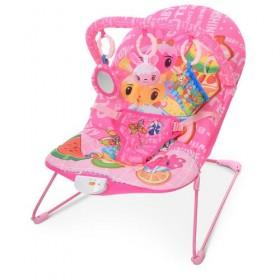 Шезлонг-качалка BAMBI 303, розовый