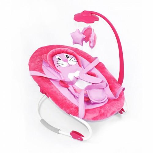 Шезлонг-качалка Tilly BT-BB 0002 розовая