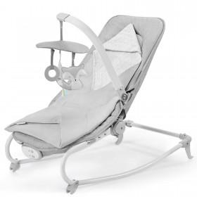 Шезлонг-качалка Kinderkraft Felio 2020 серый