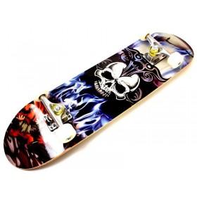 Скейтборд с рисунком Sportdrive Skull