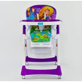 Стульчик для кормления JOY J5500 фиолетовый