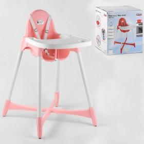 Стільчик для годування Pilsan 07-504 рожевий