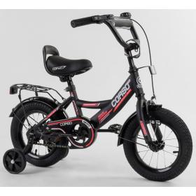 """Велосипед двухколесный CORSO MaxPower 12 CL-12854 12"""", черный"""