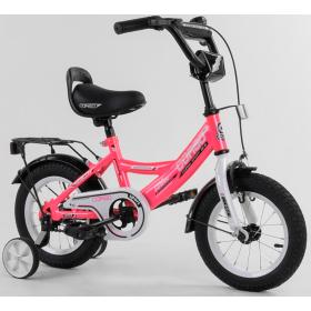 """Велосипед двухколесный CORSO MaxPower 12 CL-12836 12"""", розовый"""