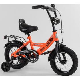 """Велосипед двухколесный CORSO MaxPower 12 CL-12913 12"""", оранжевый"""