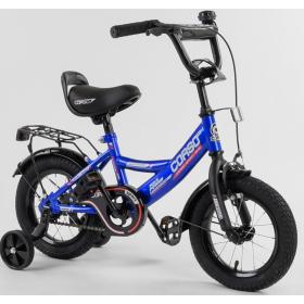"""Велосипед двухколесный CORSO MaxPower 12 CL-12617 12"""", синий"""