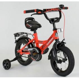 """Велосипед двухколесный CORSO MaxPower 12 CL-D-0106 12"""", красный"""