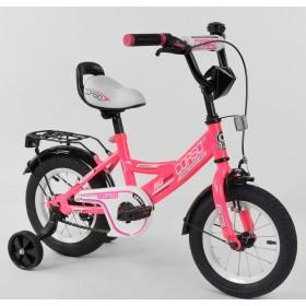 """Велосипед двухколесный CORSO MaxPower 12 CL-D-0373 12"""", розовый"""