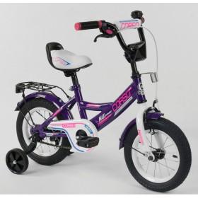 """Велосипед двухколесный CORSO MaxPower 12 CL-D-0485 12"""", фиолетовый"""