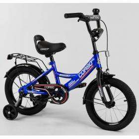 """Велосипед двоколісний CORSO MaxPower CL-14004 14 """", синій"""