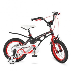 """Велосипед двухколесный Profi Infinity магниевая рама 14"""" черный"""
