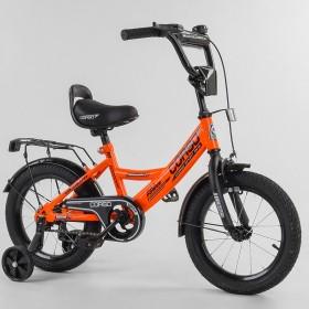 """Велосипед двухколесный CORSO MaxPower CL-14315 14"""", оранжевый"""