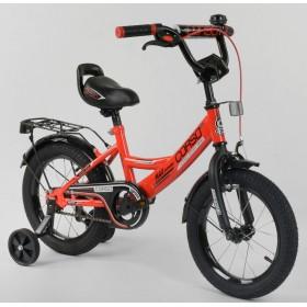 """Велосипед двухколесный CORSO MaxPower CL-D-0106 14"""", красный"""