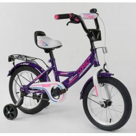 """Велосипед двухколесный CORSO MaxPower CL-D-0485 14"""", фиолетовый"""