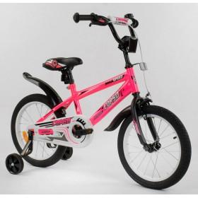 """Велосипед двухколесный CORSO MaxSpeed EX 16 N-9164 16"""" розовый"""