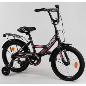 """Велосипед двоколісний CORSO MaxPower CL-16622 16 """", чорний"""