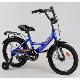 """Велосипед двоколісний CORSO MaxPower CL-16401 16 """", синій"""