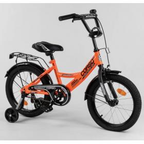 """Велосипед двухколесный CORSO MaxPower CL-16736 16"""", оранжевый"""
