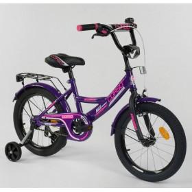 """Велосипед двухколесный CORSO MaxPower CL-P-1177 16"""", фиолетовый"""