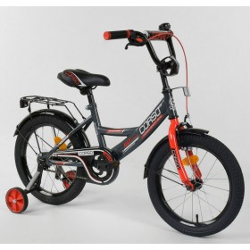 """Велосипед двухколесный CORSO MaxPower CL-P-4405 16"""", черно-красный"""