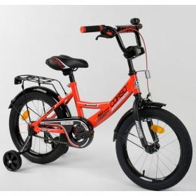 """Велосипед двухколесный CORSO MaxPower CL-P-2255 16"""", красный"""