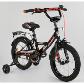 """Велосипед двухколесный CORSO MaxPower CL-P-4482 16"""", черный"""
