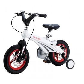 """Велосипед двухколесный Miqilong MQL-GN 12"""" белый"""