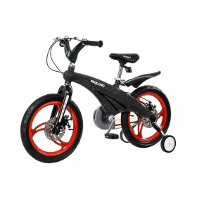 """Велосипед двухколесный Miqilong MQL-GN 16"""" черный"""