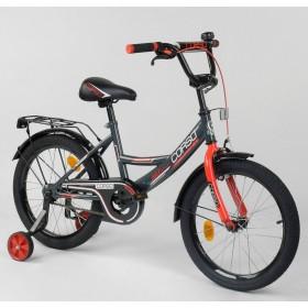 """Велосипед двухколесный CORSO MaxPower CL-R-0059 18"""", черно-красный"""