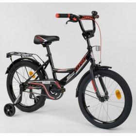 """Велосипед двухколесный CORSO MaxPower CL-R-4003 18"""", черный"""