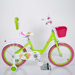 """Велосипед двухколесный Sigma ROSES 18"""" зеленый"""