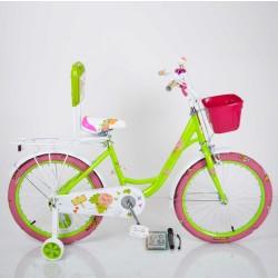 """Велосипед двухколесный Sigma ROSES 20"""" зеленый"""