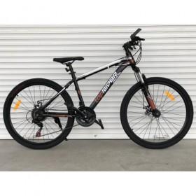 """Спортивный велосипед Toprider 611 26"""" черно-коричневый"""